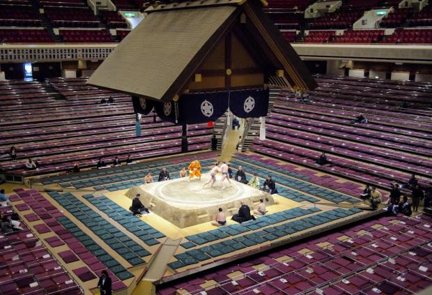 The Ryogoku Sumo Hall, Tokyo