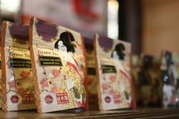Japanese Tea on display